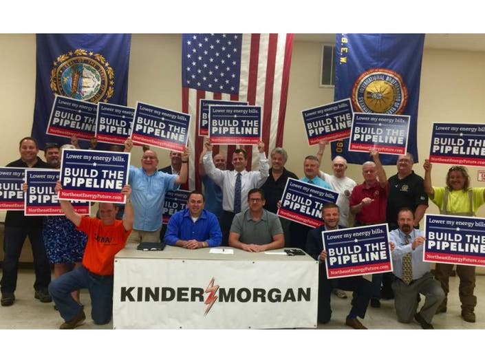 Kinder Morgan Signs Agreement with Trade Union | Merrimack, NH Patch