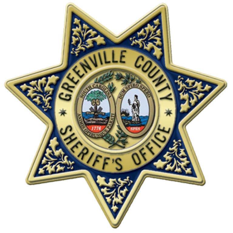 Crime Blotter: Greenville County Sheriff's Office
