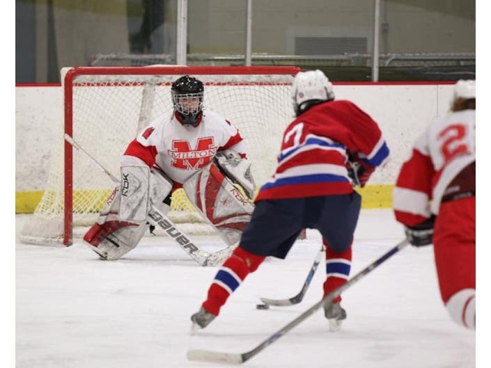 Milton Girls Hockey S Tournament Hopes On Thin Ice With Loss To