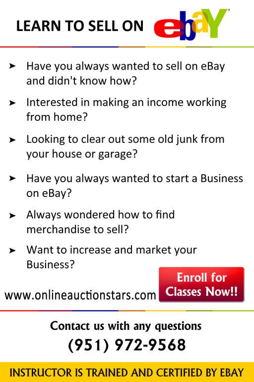 Learn To Sell On Ebay Classes Temecula Ca Patch