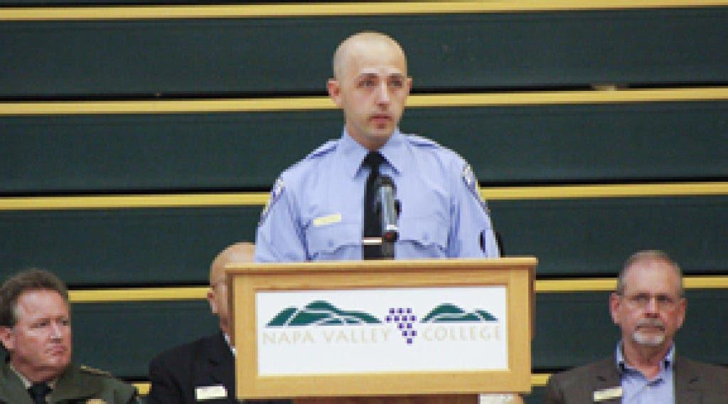 Police Academy Recalls 9/11 at Graduation | Napa Valley, CA