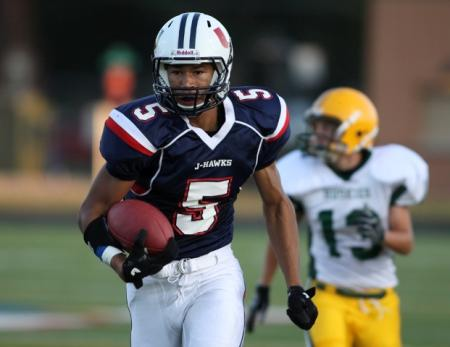 Allen Lazard in high school