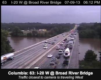 Fatal Crash Backs Up Traffic on I-20 Near Broad River Road