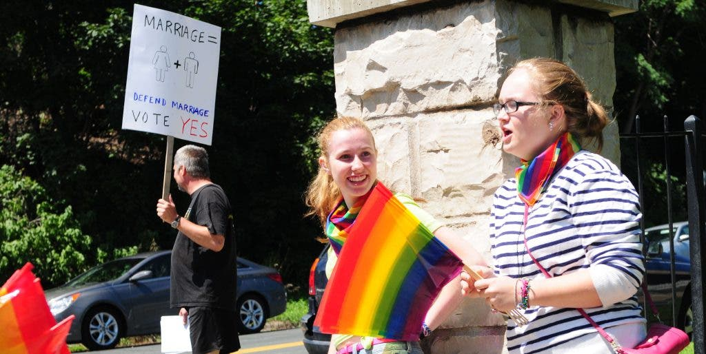 no same sex marriage minnesota in Waterbury