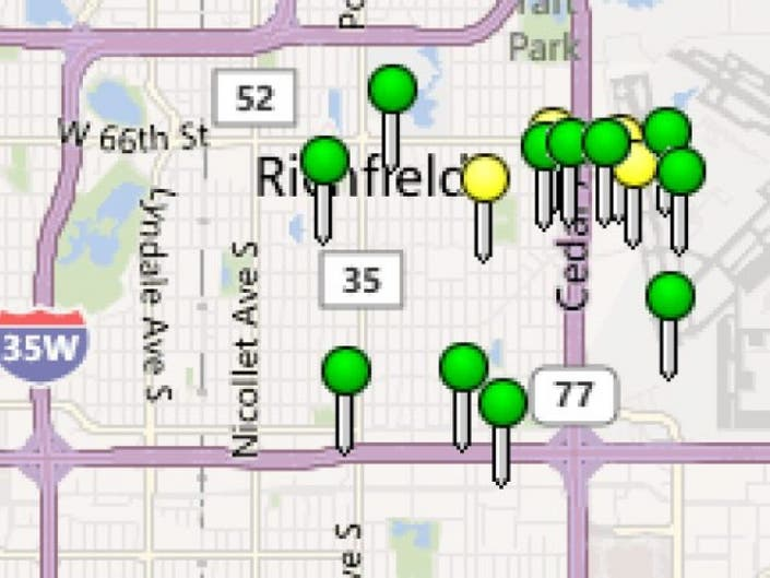 Storm Causes Power Outages in Richfield, Across Metro | Richfield ...