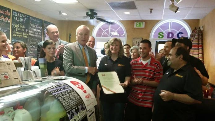 Sunny Day Cafe Receives State Recognition
