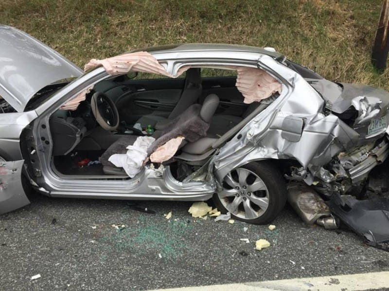 One Hospitalized After Belair Road Crash Officials Say Bel Air