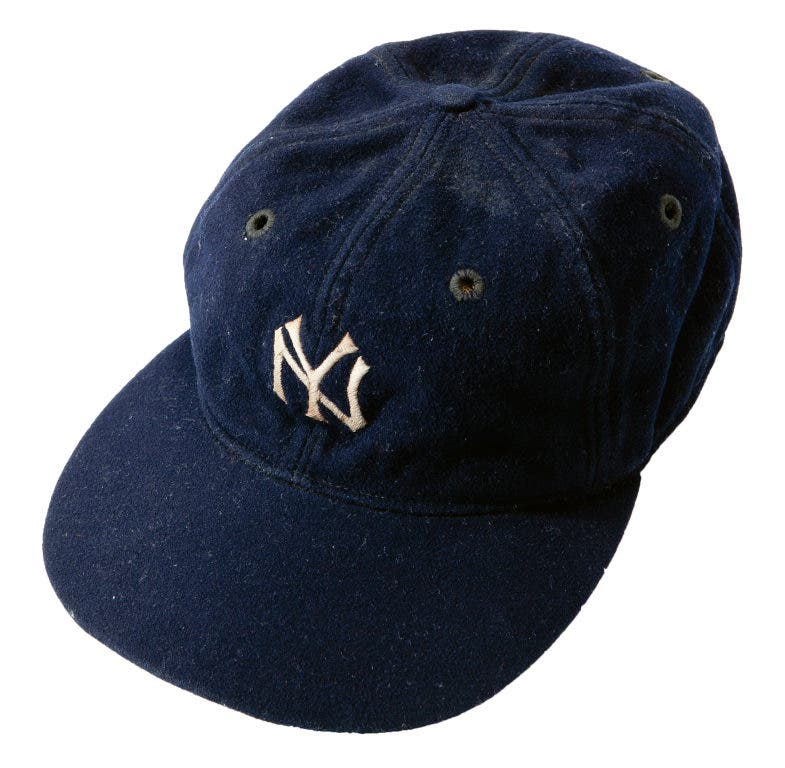 7f75ca357 Bids Heating Up on Babe Ruth Cap and Other Auction Items | Laguna ...