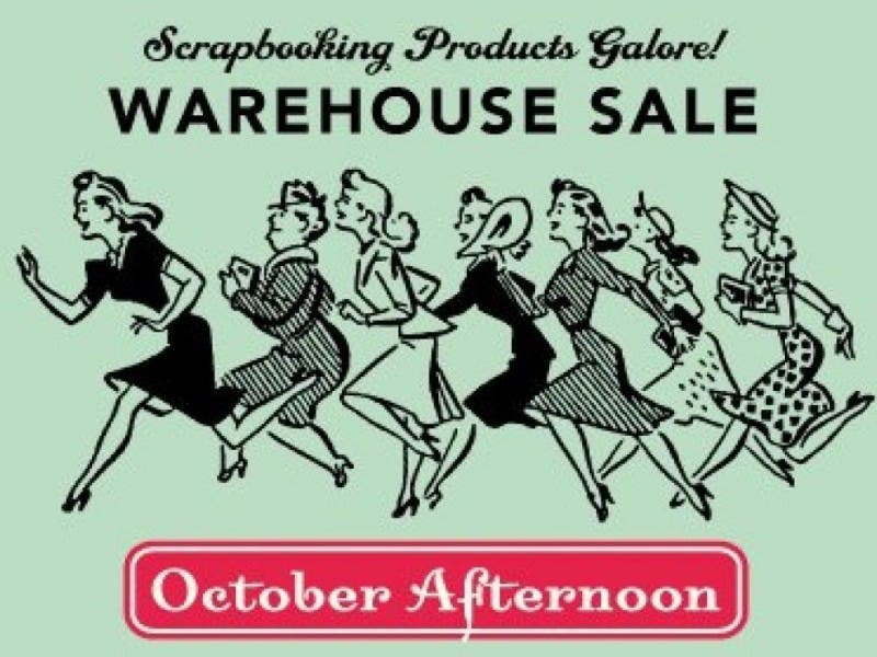 Scrapbooking Warehouse Sale Apple Valley Mn Patch