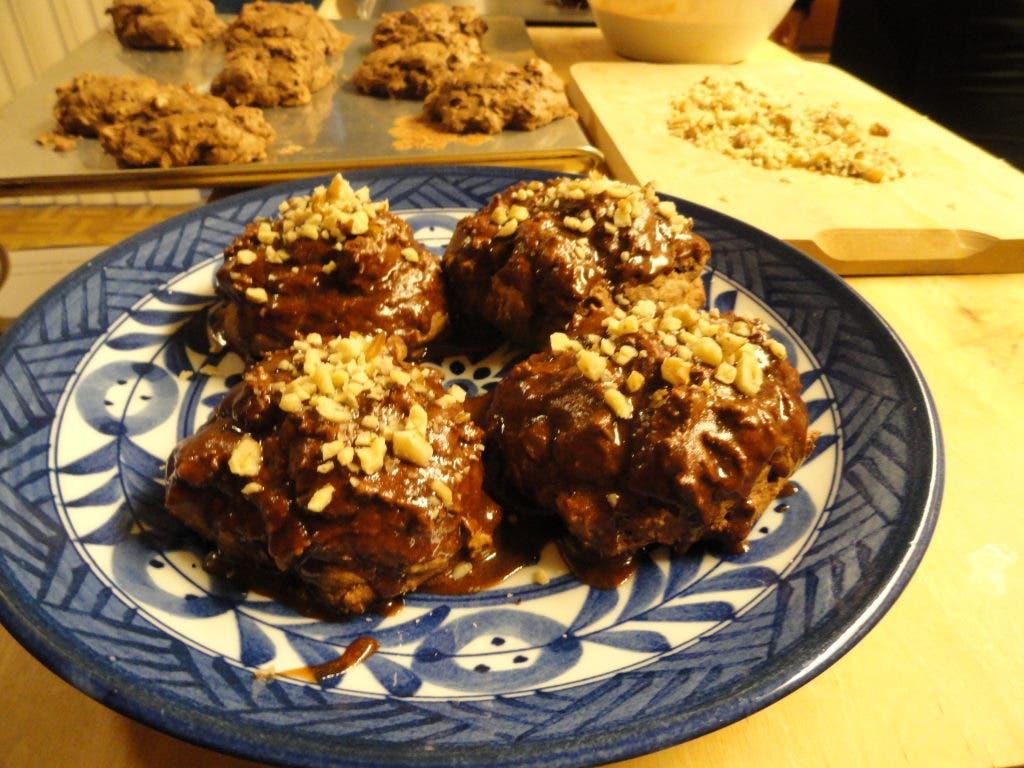 Recipe Mom S Italian Christmas Chocolate Ball Cookies Suisun City
