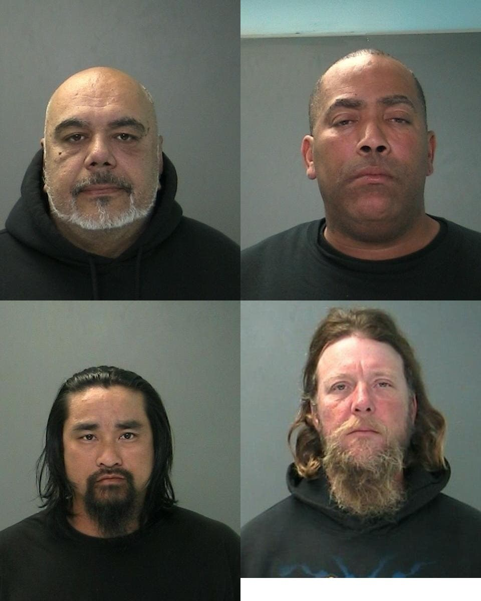 Police Release Mugshots of 11 People Arrested During Motorcycle Club
