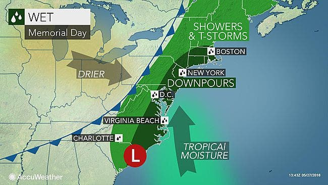 Long Island Memorial Day Weather Forecast Takes Turn For The