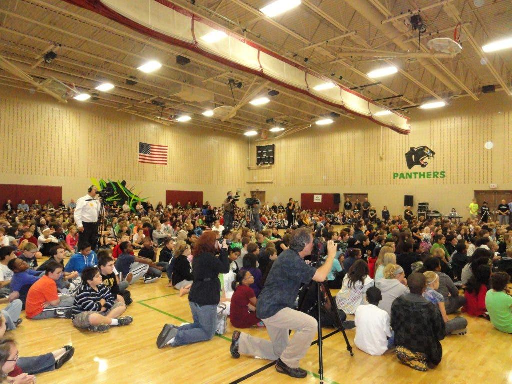 Black Hawk Middle School Celebrates School Nutrition | Eagan