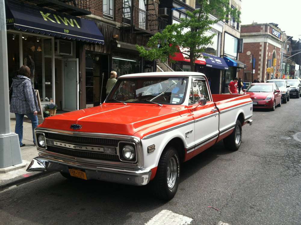 1970 Chevy Pickup >> 1970 Chevy Cst 10 Pickup Truck For Sale Park Slope Ny Patch