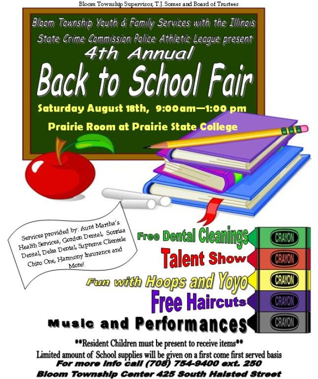 Bloom Township Back to School Fair & Talent Show | Chicago