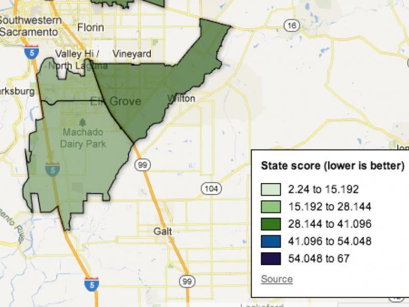 How Bad Is Pollution In Elk Grove See What New State Figures Say