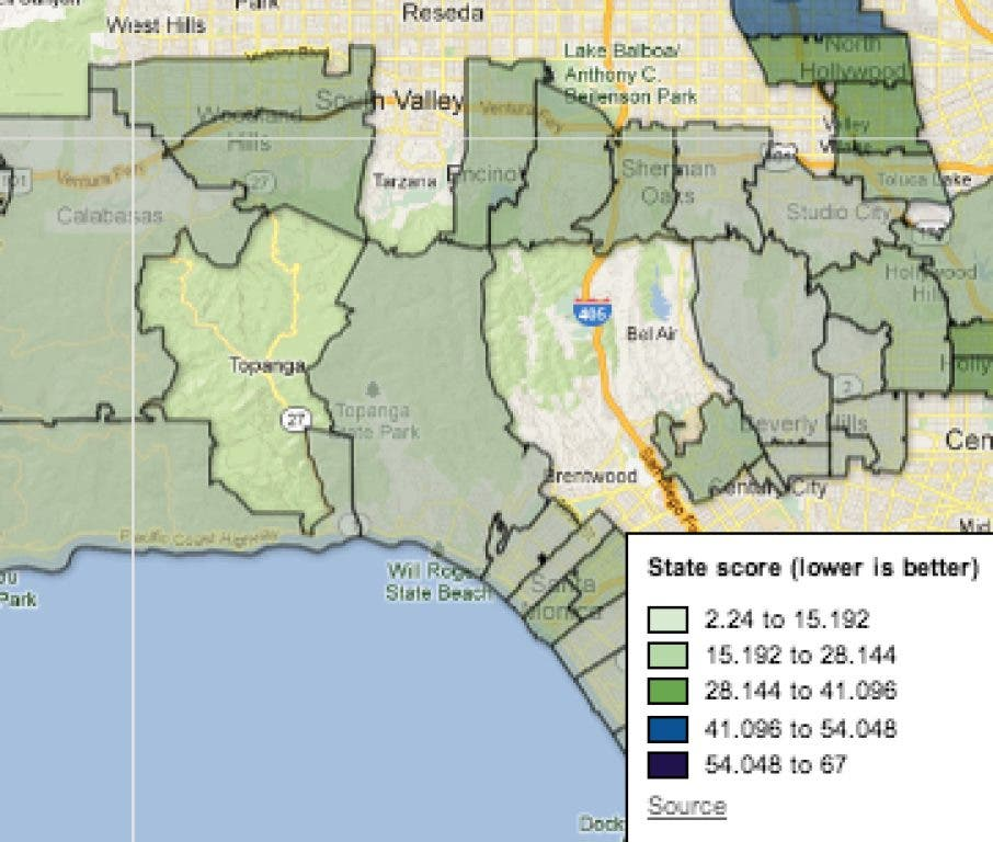How Bad is Santa Monica Pollution? Your Zip Code Matters ...