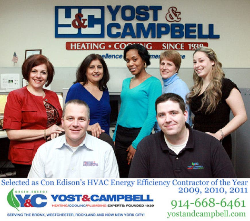 Yost & Campbell Receives Angie's List Super Service Award | New