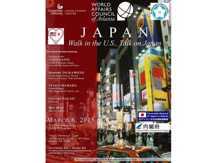 Ambassador Luncheon Forum & Delegation Discussion - Japan