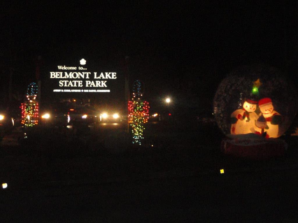 Holiday Season Kicks Off At Belmont Lake State Park Deer
