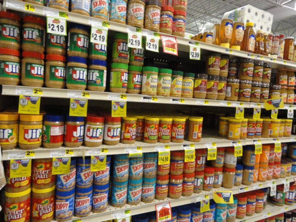 Massive Recall Involving Peanuts and Peanut Butter Involves