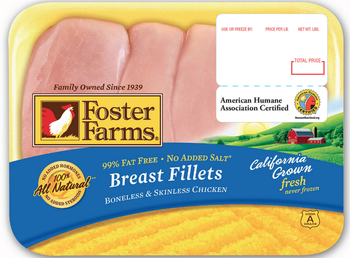 Health Alert: Foster Farms Chicken Source of Salmonella Outbreak