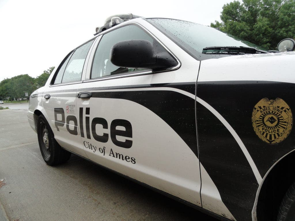 Leaving the Scene of an Accident and Assault in Ames Police