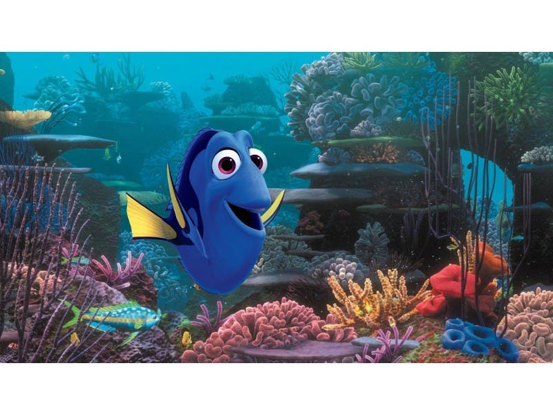 finding dory movie review pixar dives into new technology reston