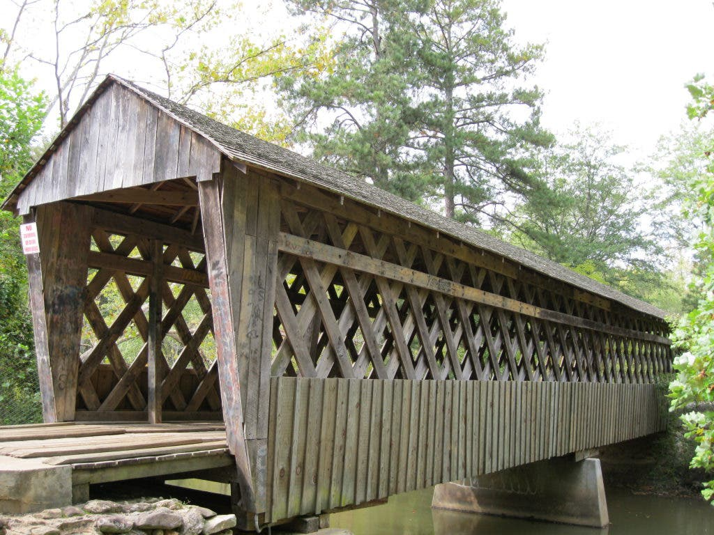 Historic Covered Bridge Nearby Alpharetta Ga Patch