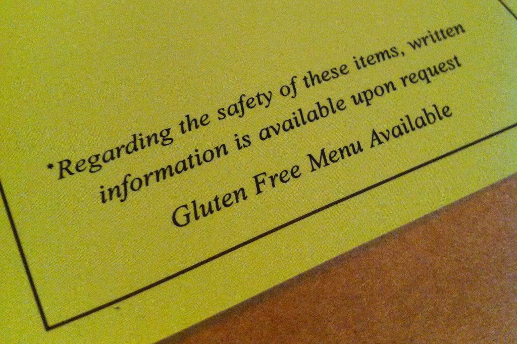 Gluten Free Restaurant Options In Severna Park And Nearby