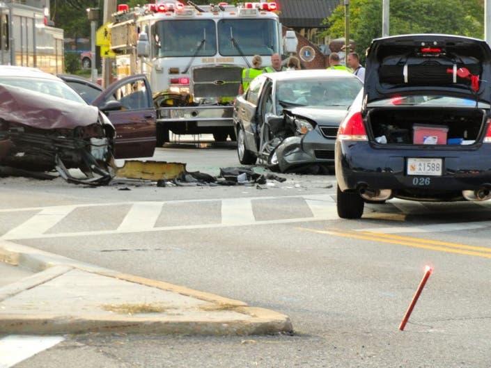 Two-Car Accident Sends Three to Shock Trauma | Glen Burnie