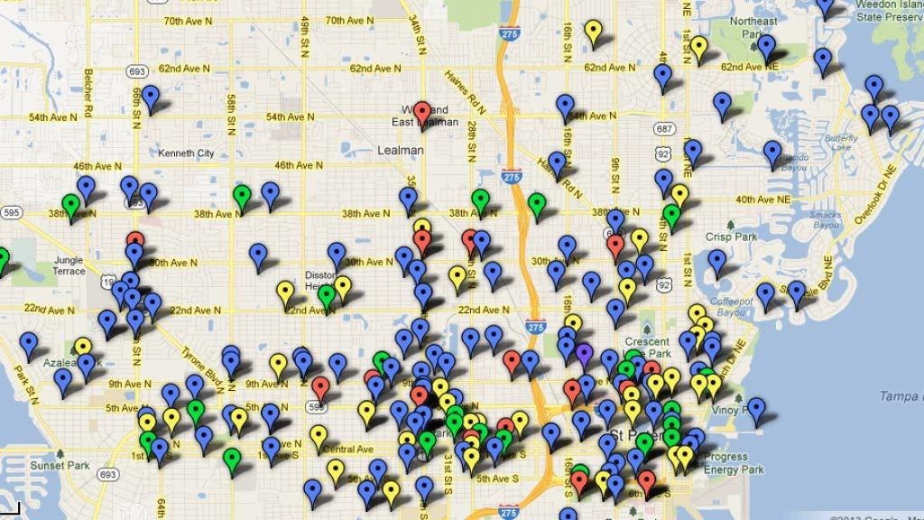 St  Pete Crime Map | St  Pete, FL Patch
