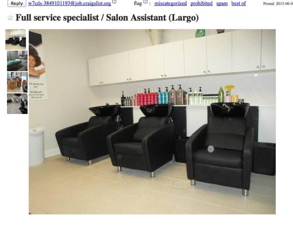 100 New Largo-Area Job Openings Posted to Craigslist | Largo