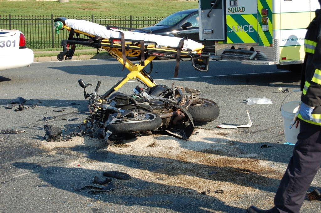 Motorcyclist Critically Injured in Wreck | Fredericksburg