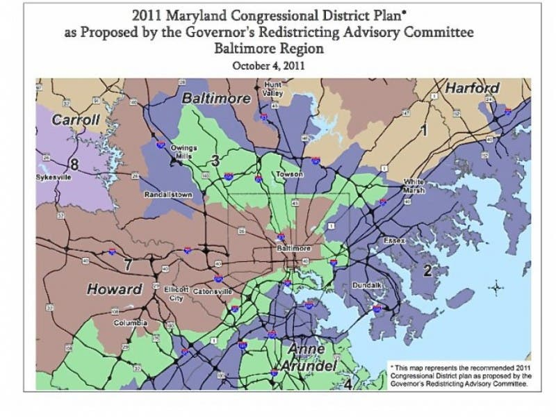 Republicans, Democrats Criticize Proposed Redistricting Map   Anne ...
