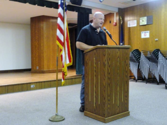 Retired NYPD Officer Speaks to Historical Society About Sept  11