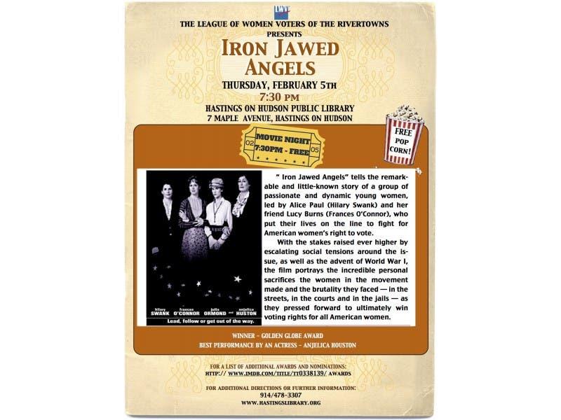 iron jawed women