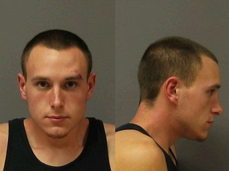man arrested with semi automatic rifle and ammo outside oswego walmart