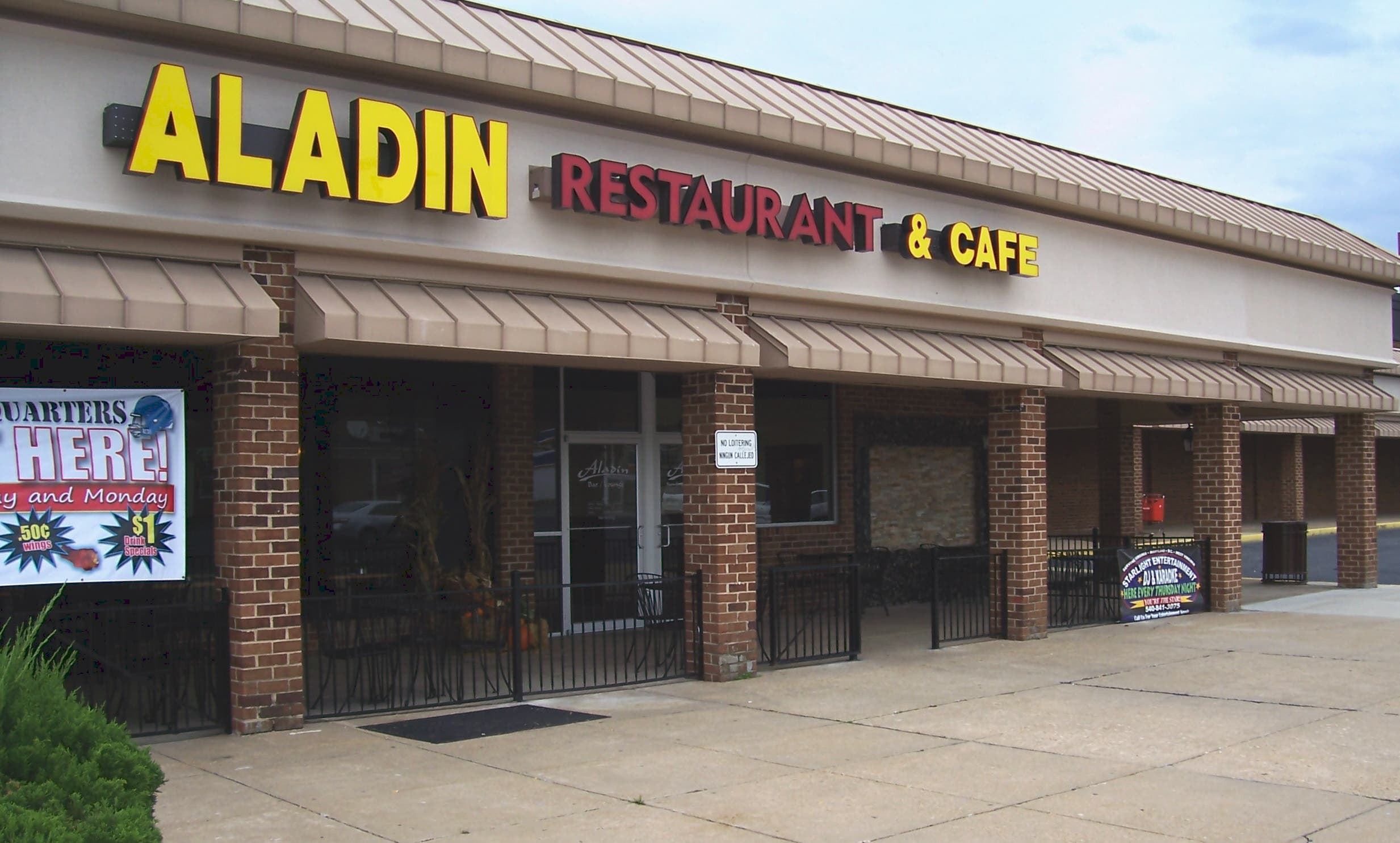 Weapons Violation Aggravated Assault At Aladin