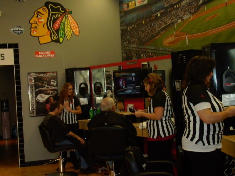 Get Your Sports And Haircut At The Same Place Lake Zurich Il Patch
