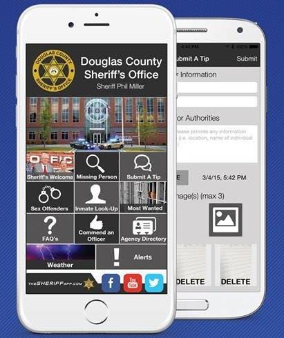Douglas County Sheriff's Office Now Has Smartphone App