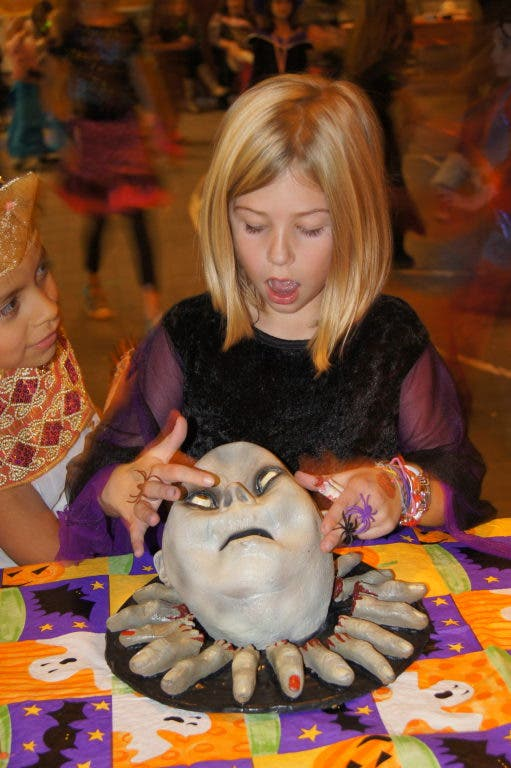 Spookiness Abounds At Girl Scouts Halloween Party In
