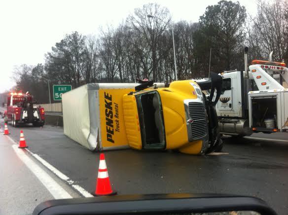 Photo: Sunday Morning Traffic Accident on Ga  400 | Sandy Springs
