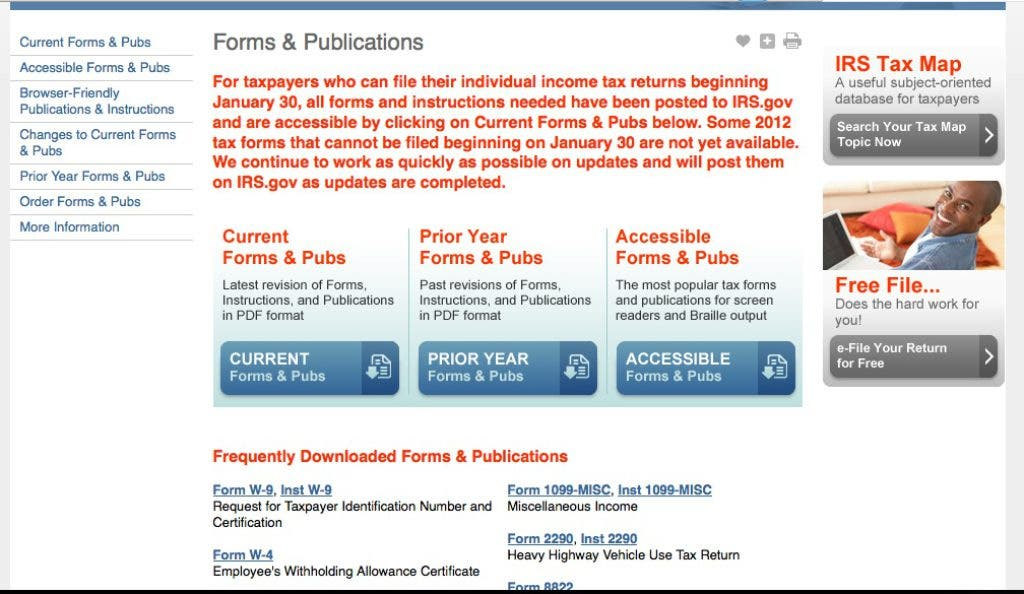 2013 Tax Tip: Which Tax Form Is Right For Me? | Granby-East