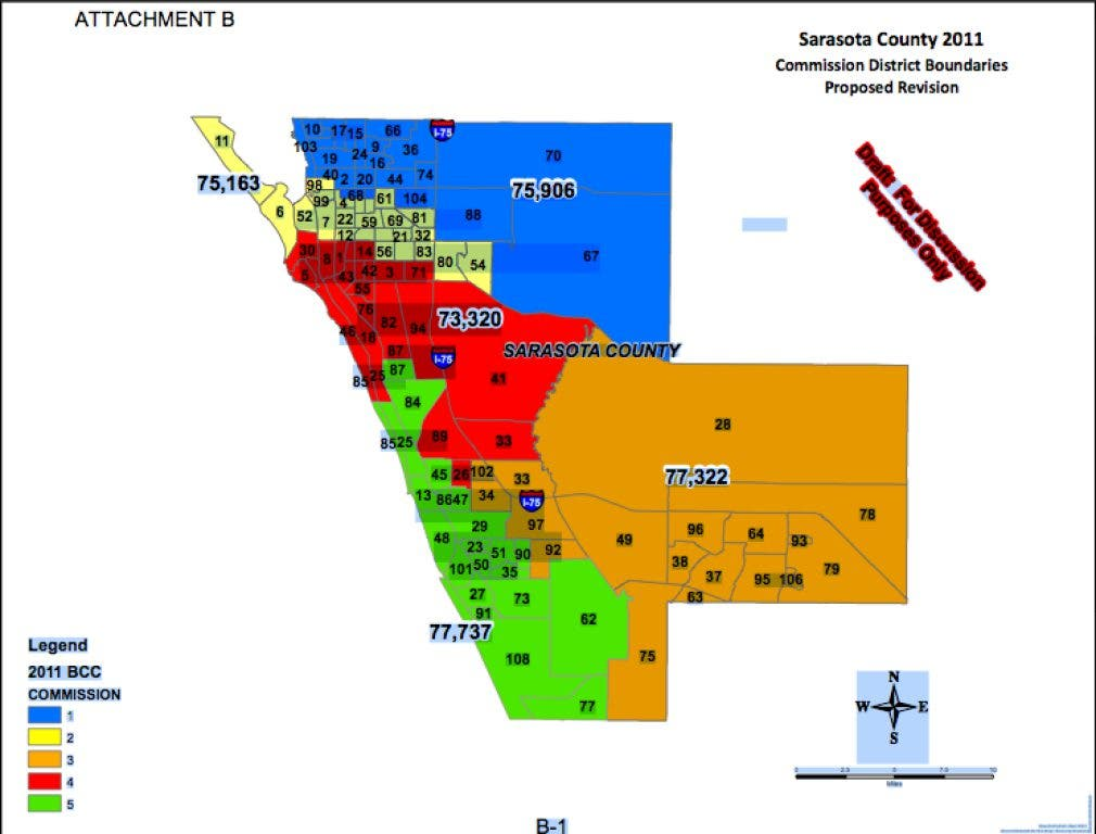 County Redistricting Map Approved Unanimously | Sarasota, FL ... on nicholasville county map, apopka county map, charlotte county map, manatee county map, floral city county map, chattahoochee county map, desoto county map, calgary county map, akron county map, springfield il county map, eugene county map, dayton county map, miamidade county map, west volusia county map, florida map, fort myers map, siesta key map, cape coral county map, longboat key county map, sarasota area beaches,