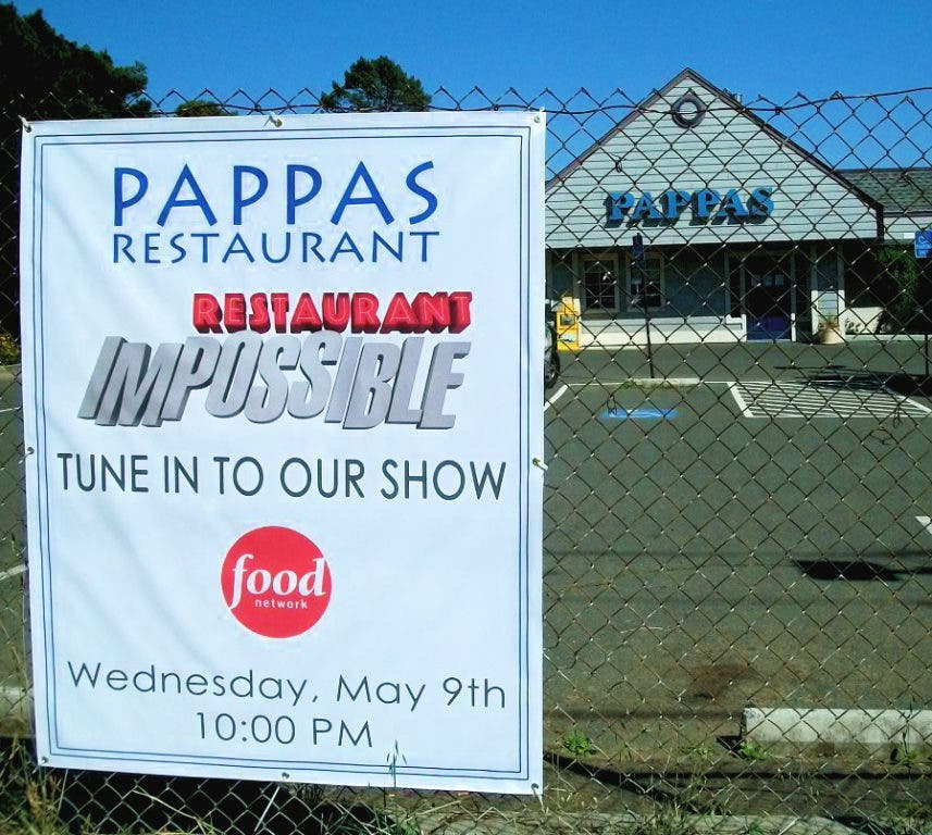 Restaurant Impossible Star Pappas Restaurant Will Close