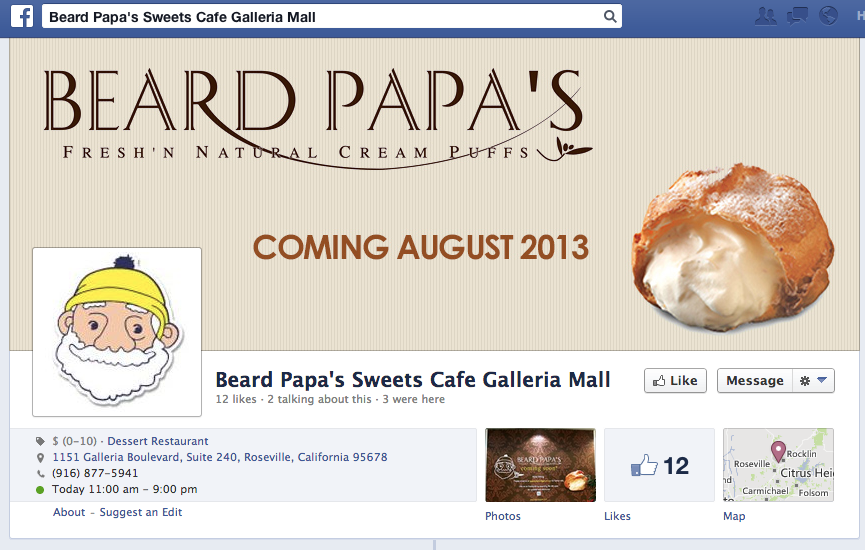 Japanese Cream Puff Eatery Beard Papa S Coming To Roseville