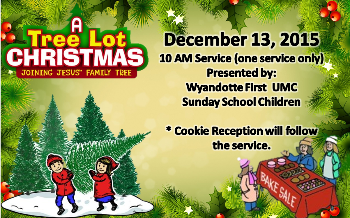 A Tree Lot Christmas - Children's