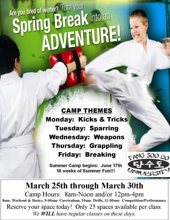 Spring Break Karate Camp | Moorpark, CA Patch