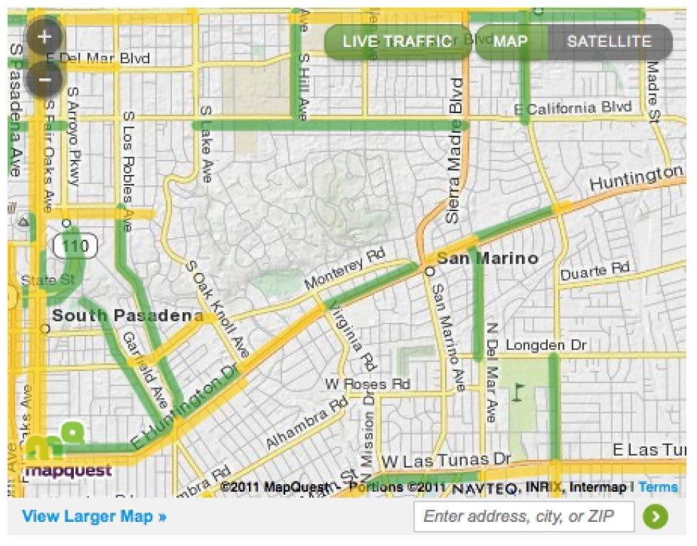 San Marino California Map.San Marino Patch Helps Keep You Out Of Traffic San Marino Ca Patch